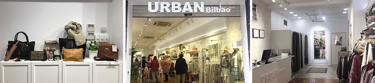 Exterior de la tienda de Urban Moda en el Casco Viejo de Bilbao